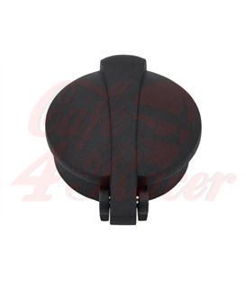 "Monza Flip Up Gas Tank Cap 2.5""/62mm - wrinkle  Black"