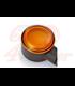 DAYTONA LED Turn Signal D-Light SOL, black, yellow glass, E-marked