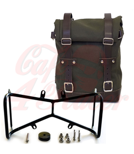 UNIT GARAGE Side Pannier Canvas + Symmetrical Double Subframe NineT