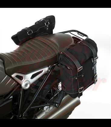 Postranný symetrický držiak  s 2 text.  brašňamiou pre BMW  RNineT Series
