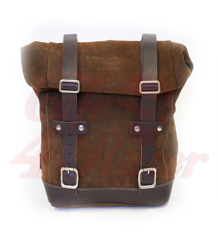 6900449dfb Side Pannier Waxed Suede