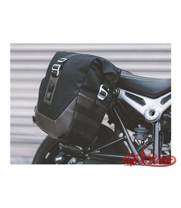 SW-MOTECH Legend Gear side bag set - Black Edition BMW R nineT (14-), Pure / GS / Racer (16-)