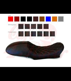 Solo sedlo pre  BMW K75/K100 čierne štvorce - viacero možností výberu