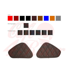 Bočné kožené chrániče na nádrž pre   BMW K75/K100 viacero možností výberu
