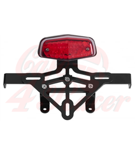 Lucas Tail Light - Rear Mudguard Bracket - Indicator Plate - Loom KIT