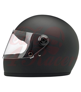 Biltwell Gringo S ECE Helmet Flat Black