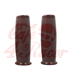 Handle bar grips brown AMAL CR2