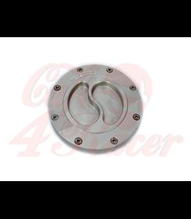 BMW K75/100/1100 Fuel Tank Gas Cap SS silver