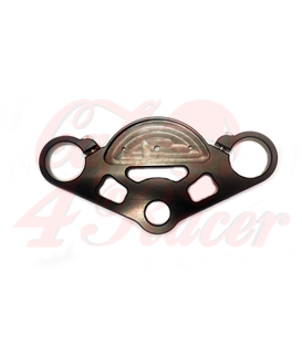 Top triple tree clamp upper / fork yoke  for K75/K100 RS RT LT (82-90)  Motoscope PRO BLACK