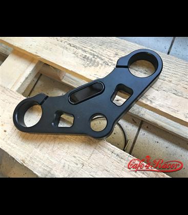 Top triple tree clamp upper / fork yoke  for K75/K100 RS RT LT (82-90)  Motoscope mini BLACK