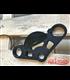 Top triple tree clamp upper / fork yoke  for BMW K1/100/1100  RS RT LT (89-99) Motoscope PRO black
