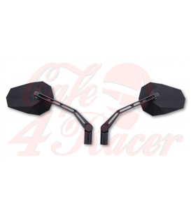 HIGHSIDER  mirror STEALTH -X1, black