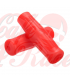 Handle bar grips red CR3