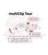 ABM clip-on multiClip Tour