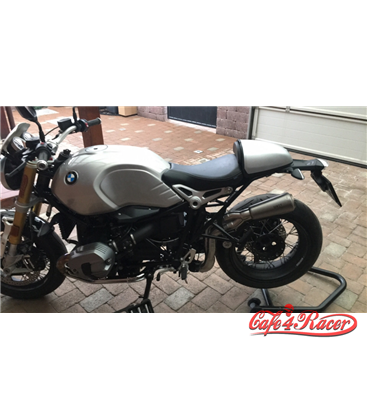 Rear Seat Cowl  for  BMW RnineT silver