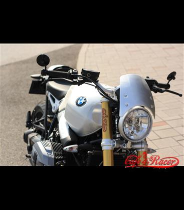 Čelný Štít plastový strieborný pre  BMW R NINE T (14-18)