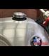 BMW R nine T uzáver nádrže Čierny Monza style brúsený uzáver