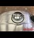 BMW R nine T uzáver nádrže Strieborný  Chrómový Monza style