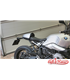 Rear Seat Cowl  for  BMW RnineT silver aluminium  OEM part