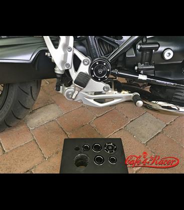 HIGHSIDER CNC krytky rámu  Set A pre BMW R9T