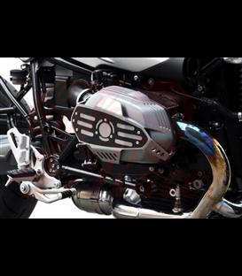 IBEX chránič olejového chladiča pre  BMW R nine T, 14-16, čierny