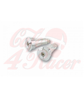 HIGHSIDER DOT, Handlebar end, Alu chrome