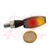HIGHSIDER LED smerovka BLAZE čierne, číre