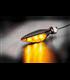 Kellermann Rhombus Dark Extreme S  predná pravá / zadná ľavá  čierna číra šošovka