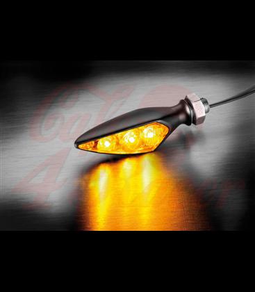 Kellermann Rhombus Dark Extreme S  predná pravá / zadná ľavá  čierna dymová šošovka