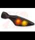 Kellermann Smerovka / zadneé svetlo Micro Rhombus DF, čierna, dymová šošovka, pravá