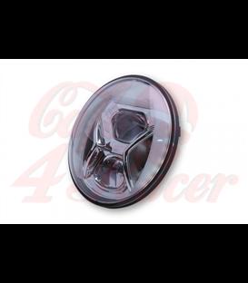HIGHSIDER  7 inch LED hlavný svetlomet LTD TYPE 8 s  DRL, E-approved, chróm