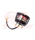 Miller/Vincent Classic FTW - Taillight Unit - Black Housing - LED