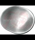 JVB Aluminium, Oval, Domed with Beading
