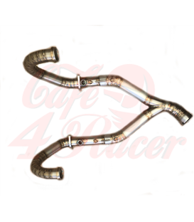 Headpipe without Catalytic Converter BMW R9T visible welding Stainless steel
