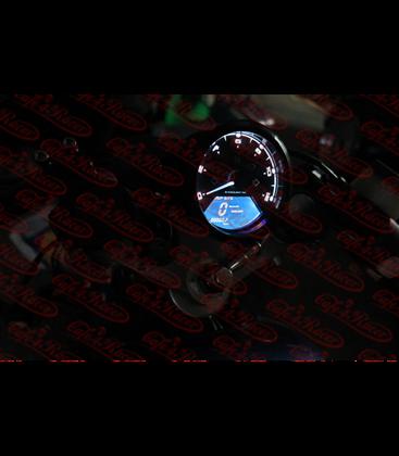 Univerzálny LCD rýchlomer