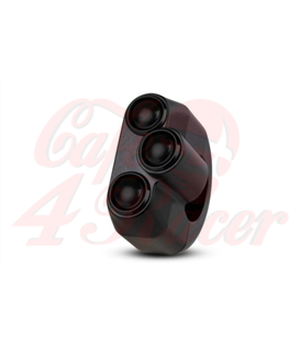 "Rebel switch 3 button – Black- 25,4mm 1"" Handlebar"
