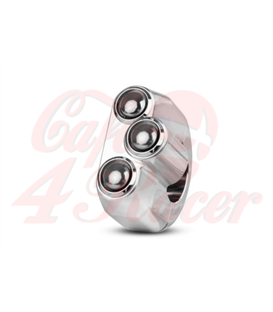 "Rebel switch 3 button – Polished 25,4mm 1"" Handlebar"