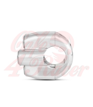 "Rebel switch 3 button LED – Black- 22mm 7/8"" Handlebar"