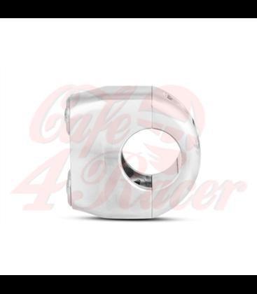 "Rebel switch 2 button LED – Polished 25,4mm 1"" Handlebar"