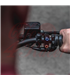 "Rebel tlačidlo 3  button LED – čierny 25,4mm 1"""