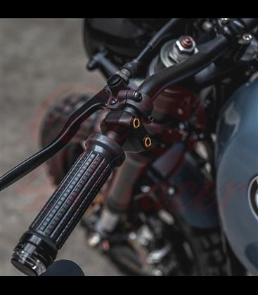 "Rebel tlačidlo 3  button LED – leštený 25,4mm 1"""
