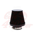 Round clamp  54mm black  Air filter
