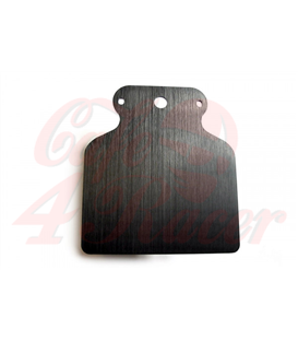 Motogadget MSM mounting plate A black