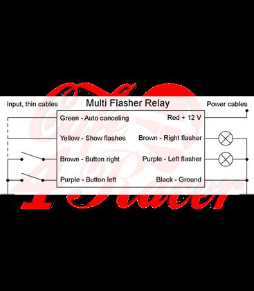 Axel Joost Multi flasher relay