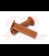 DAYTONA handlebar grips GGD-KANI, caramel