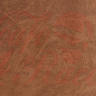 Brown synthetic leather BR