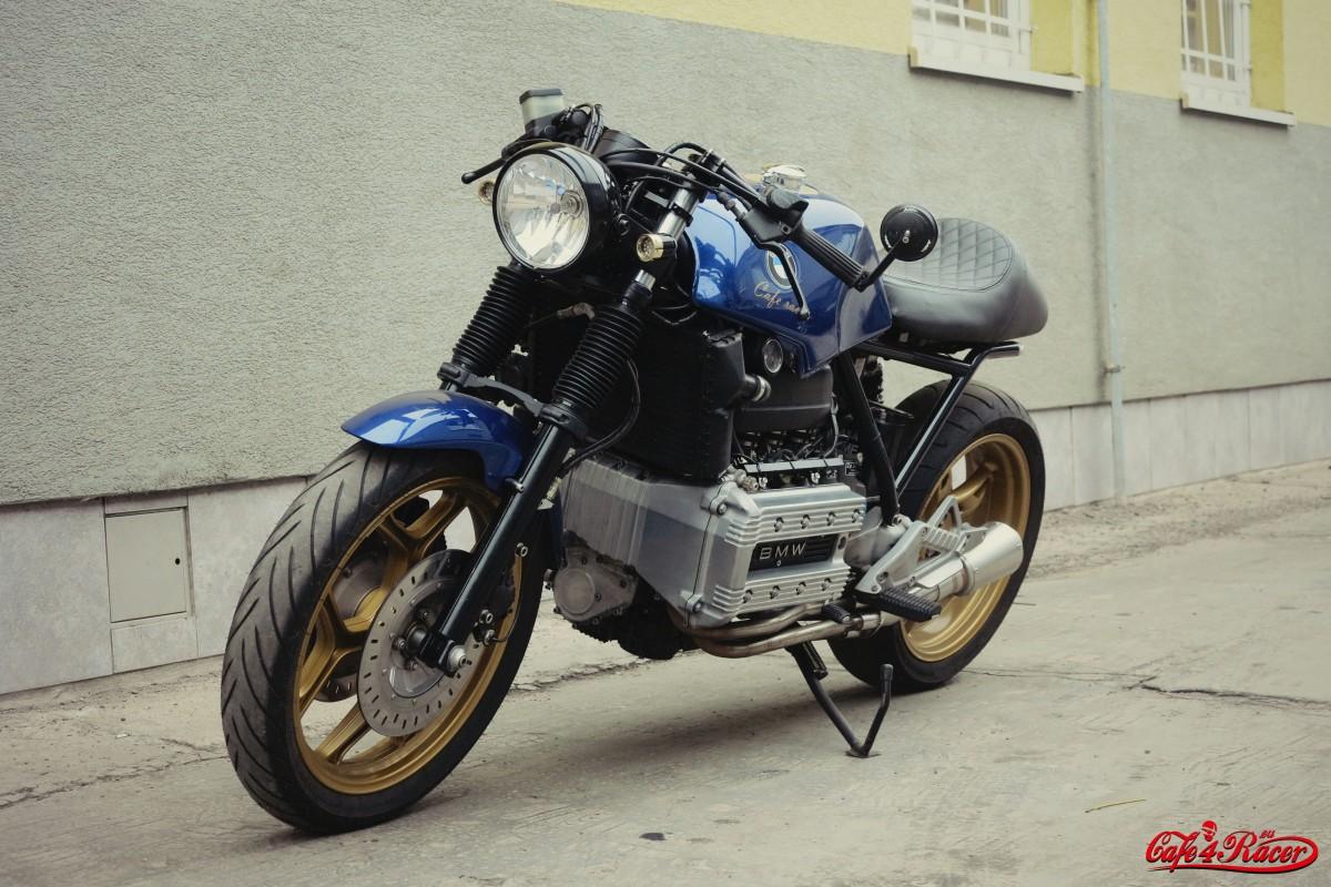 Bmw K100 Cafe Racer Battery Wiring Harness K100lt